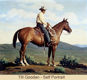Till Goodan self-portrait