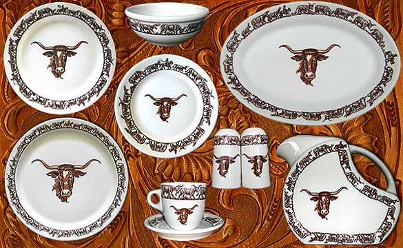 Westward Ho Lonhorn Pattern China