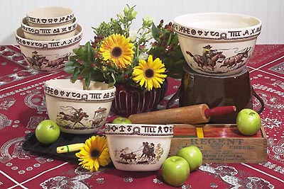 Rodeo Mixing Bowls Set of 3 (6 cup, 8 cup, 13 cup)
