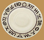 RD05 Rodeo Pattern Saucer